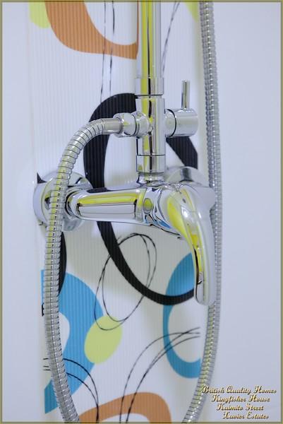 Cremona Shower & Spanish Ceramic Tiles in Shower Enclosure