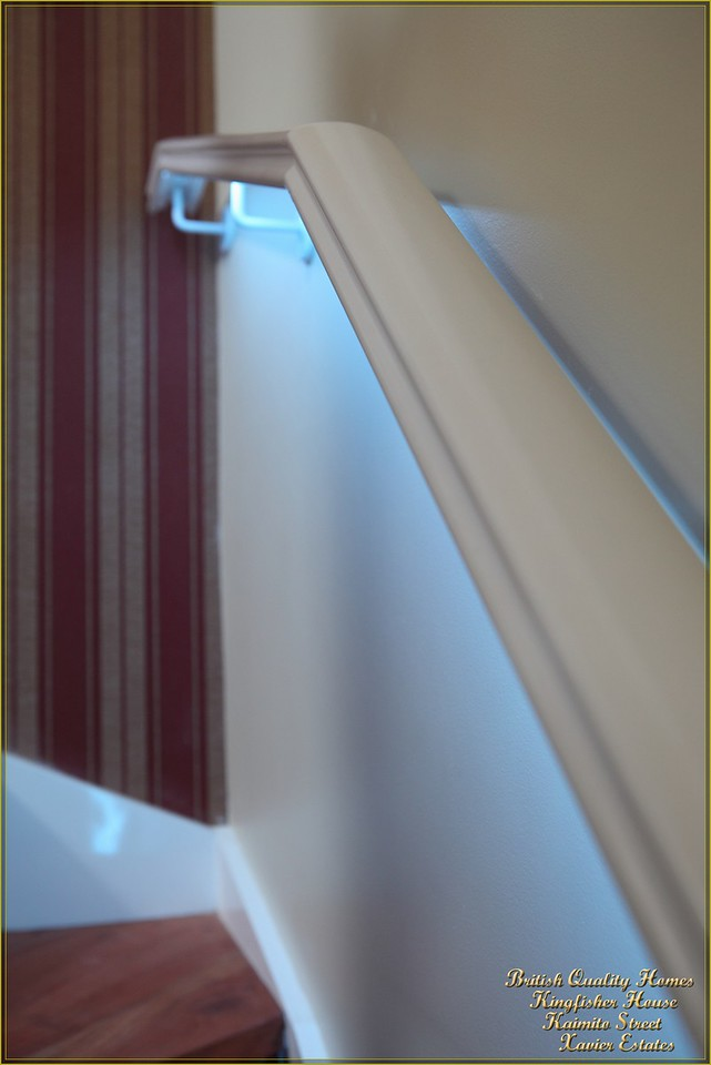 Concealed LED Staircase Handrail Lighting
