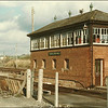 Yeovil Pen Mill signal box - 24 March 1986.