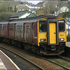 Wessex Trains Class 150/2 (150251) arrives at Lostwithiel with the 1301 Exeter St. Davids-Penzance service - 28 March 2006.