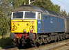 47709 Dionysos, 1Z32, Carnforth, 14 October 2006 - 1246.   NENTA's Settle & Carlisle Circular from Norwich, hauled by 47703.  47709 was subsequently bought by DRS and given Compass colours, but was never used by them.  It was scrapped at Eastleigh in 2012.