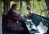 50007 Sir Edward Elgar, Swanwick Junction, 24 June 2007 9:  Driver Derek Clarke at the controls.