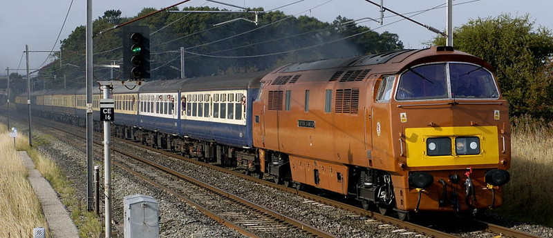 British diesel and electric special trains 2005 - 2010