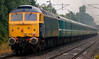 47805 Talisman & 47843 Vulcan, 1Z42, Carnforth, 21 July 2007 - 0720 2