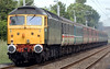 47847 & 47812, 1Z33, Carnforth, 17 June 2007 - 1323 2.