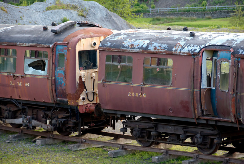 LMS 29896, Tebay, 8 June 2009 1.   Here are three shots of this driving trailer, built at Derby in 1939.