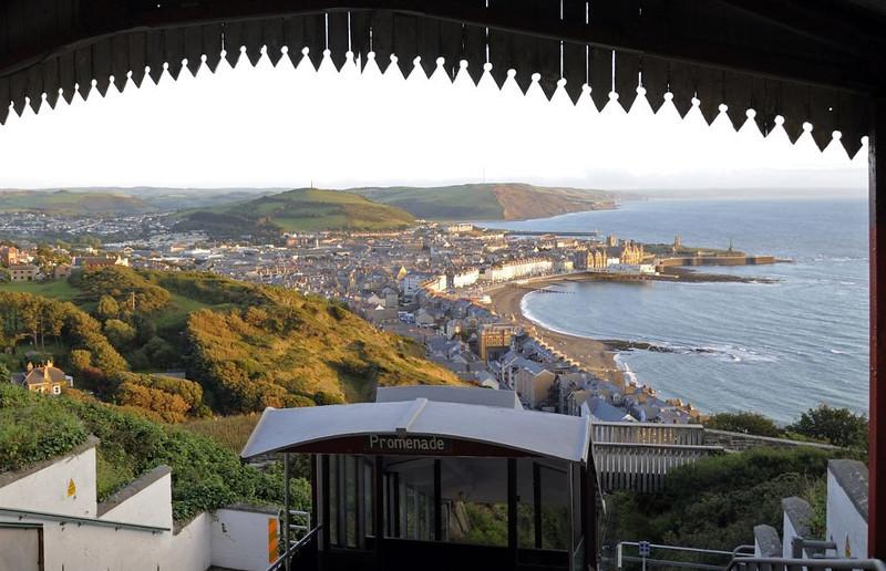 Aberystwyth Cliff Rly, Wed 24 August 2011 5.