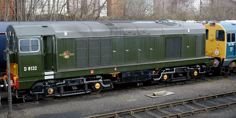 D8132 (20132), Barrow Hill, 11 March 2006
