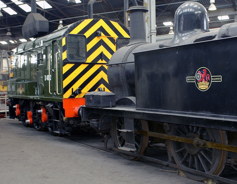D4092 & 41708, Barrow Hill, 11 March 2006