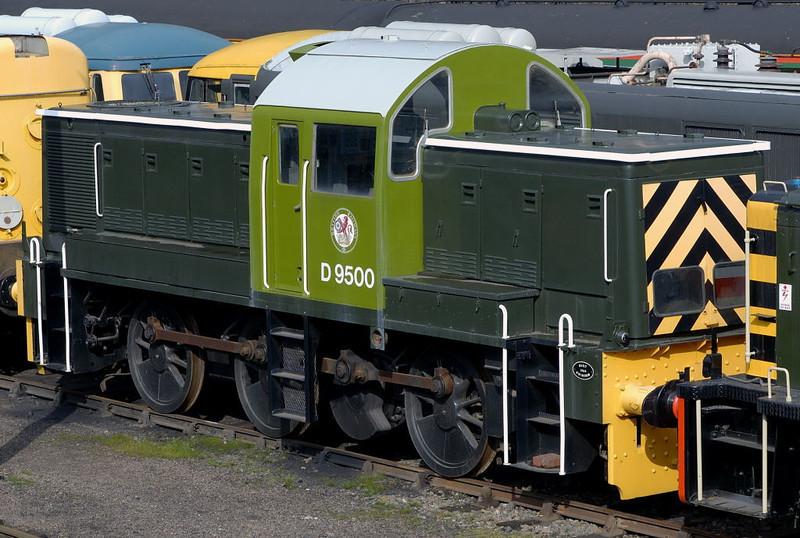 D9500, Barrow Hill, 11 March 2006