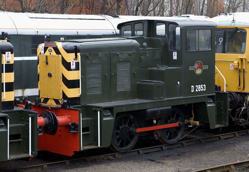 D2853 (02003), Barrow Hill, 11 March 2006