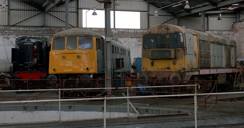 13046, 81008 & 20115, Barrow Hill, 11 March 2006