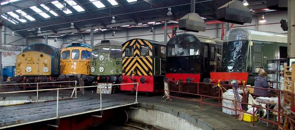 40013, 33111, D5300 (26007), D2302, 13046, & D8000 (20050), Barrow Hill, 11 November 2007
