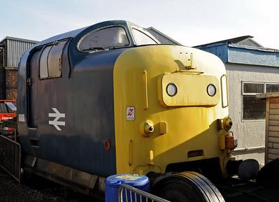 Barrow Hill diesels, 2012