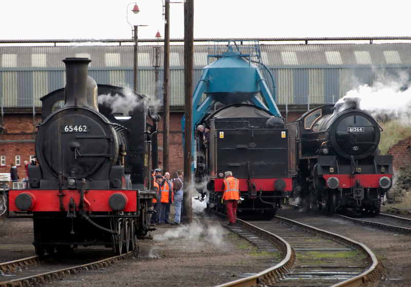 65462, 61994 The Great Marquess & 61264, Barrow Hill, 11 November 2007