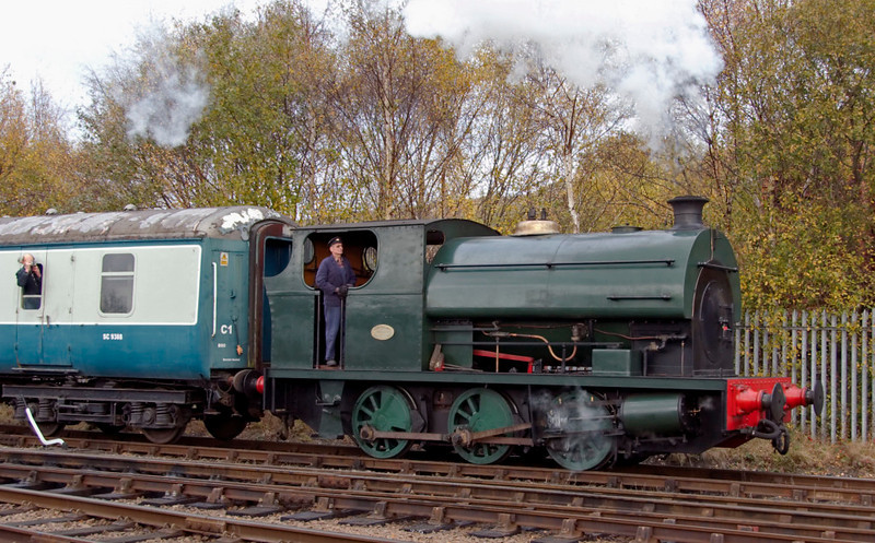 Peckett 2000, Barrow Hill, 11 November 2007 2.