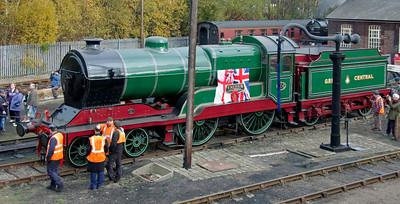 Barrow Hill steam, 2007