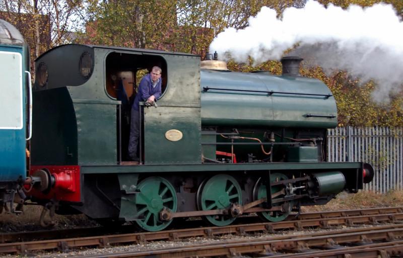Peckett 2000, Barrow Hill, 11 November 2007