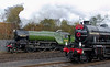 4771 Green Arrow & 62005 Lord of the Isles, Barrow Hill, 11 November 2007.