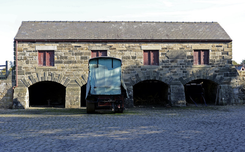 Rowley station, Beamish, Mon 8 October 2012 2.  These coal drops are from West Boldon...