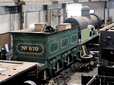 Birmingham: Tyseley Locomotive Works steam, 2011