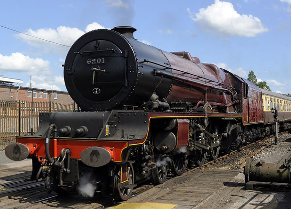 6201 Princess Elizabeth, Tyseley, Sun 26 June 2011.  The Princess was a guest for the open day...