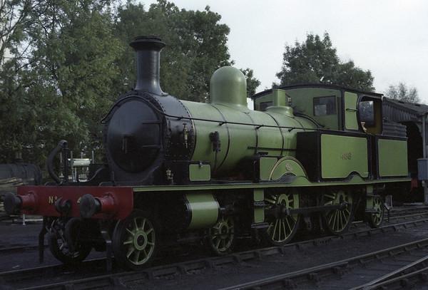 LSWR 488 (30583), Horsted Keynes, 1989