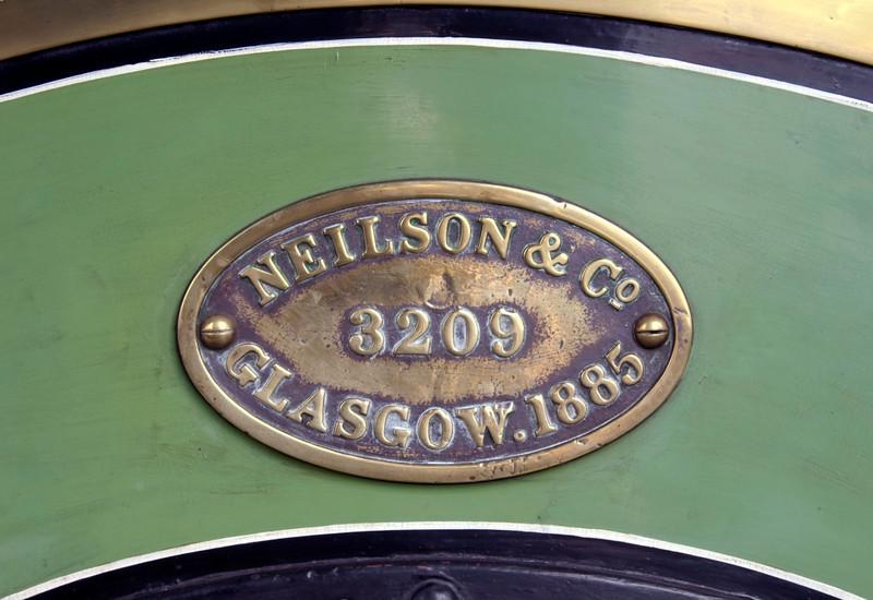 LSWR 488 (30583), Sheffield Park, 16 September 2007 2