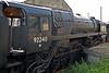92240, Sheffield Park, 16 September 2007.   1958 BR class 9F 2-10-0.   A Barry survivor, it worked until 2002 but now awaits overhaul.