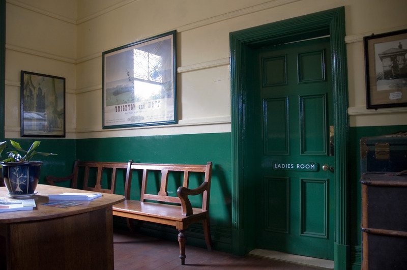 Kingscote Station, 16 September 2007 2.   Waiting room.