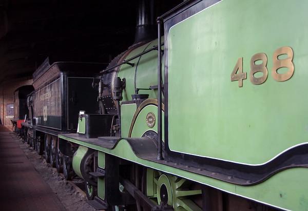 LSWR 488 (30583), SR 120 (30120) & SR 541 (30541), Sheffield Park, 16 September 2007