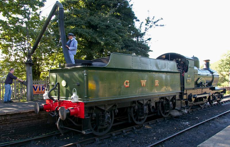 9017 Earl of Berkeley, Sheffield Park, 16 September 2007 1 - 1545