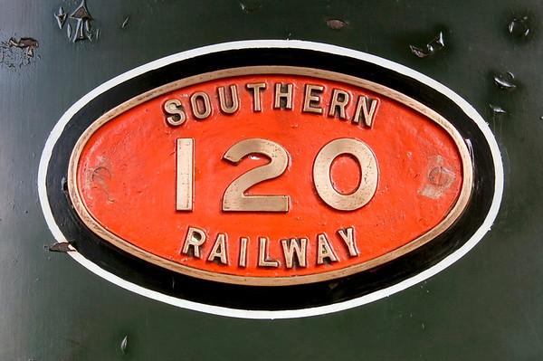 SR 120 (30120), Sheffield Park, 16 September 2007 2