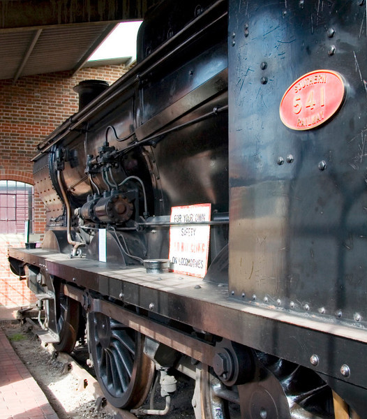 SR 541 (30541), Sheffield Park, 16 September 2007.   1939 SR Maunsell class Q 0-6-0, awaiting overhaul.