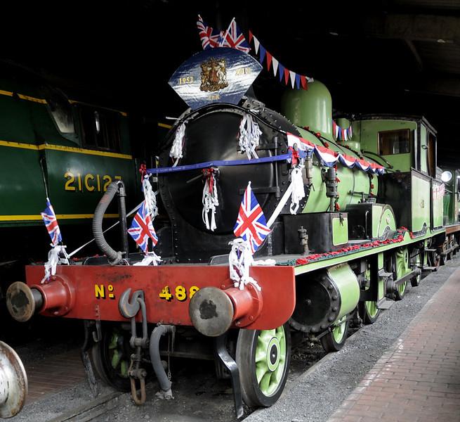 LSWR 488 (30583), Sheffield Park, Sun 10 June 2012