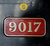 9017 Earl of Berkeley, Sheffield Park, Sun 10 June 2012.   Now in BR black.