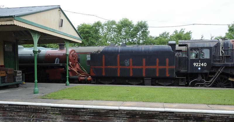 75027 & 92240, Horsted Keynes, Sun 10 June 2012