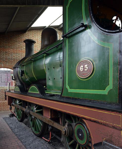 SECR 65 (31065), Sheffield Park, Mon 13 October 2014