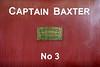 Captain Baxter, Sheffield Park, Mon 13 October 2014 2