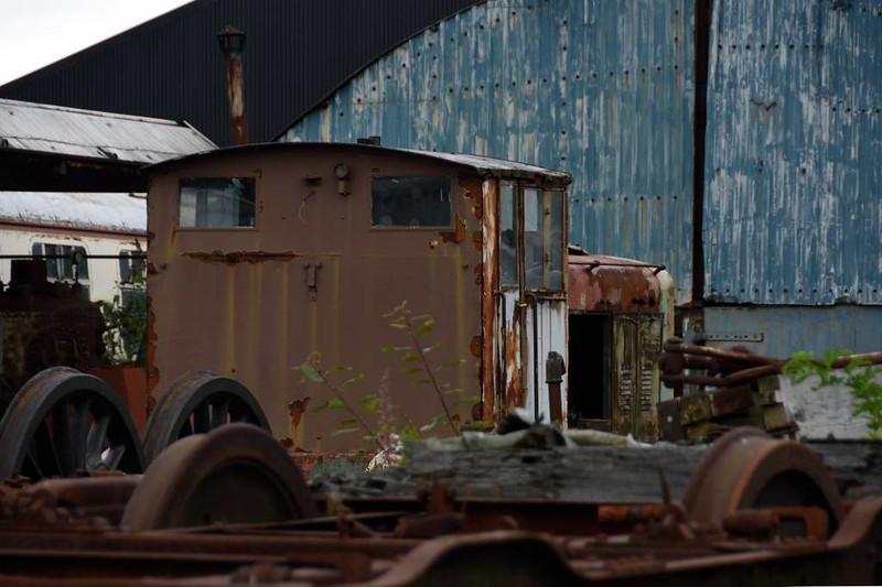 DS 3, Bo'ness, 24 September 2016.  Ruston & Hornsby 4wDM 275883 / 1949.