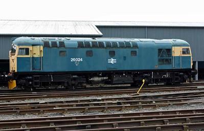 Bo'ness & Kinneil Railway diesels, 2016
