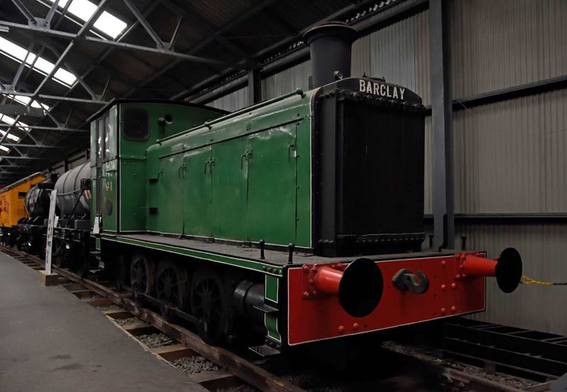 Admiralty No 1, Bo'ness, 24 September 2016.  Barclay 180hp diesel-mechanical 0-6-0, 343 / 1941.