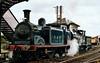 Caledonian Railway 0-4-4T 419  (55189) & 65243 Maude, Bo'ness, 2001.