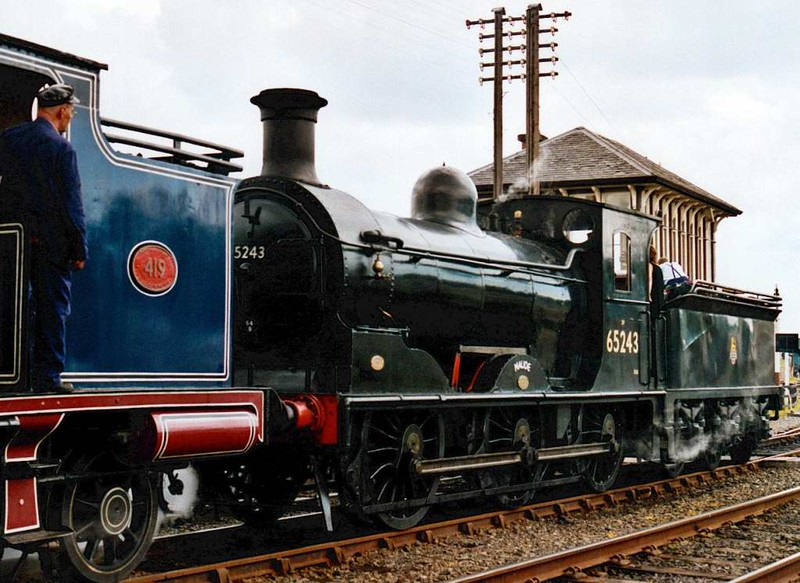 65243 Maude, Bo'ness, 2001.  My only photo of the J36 in steam.