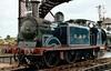 Caledonian Railway 0-4-4T 419  (55189), Bo'ness, 2001.