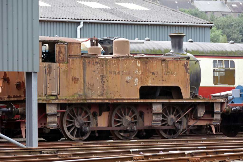 Wemyss Private Railway No 20, Bo'ness, 24 September 2016 1.  Barclay 2068 / 1939.