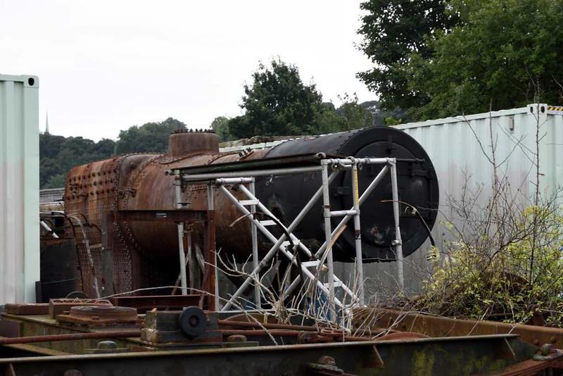80105 boiler, Bo'ness, 24 September 2016.