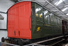 HR No 5, Bo'ness, 15 July 2007   This four wheel luggage brake was built around 1870 by the Metropolitan C & W Co of Birmingham.