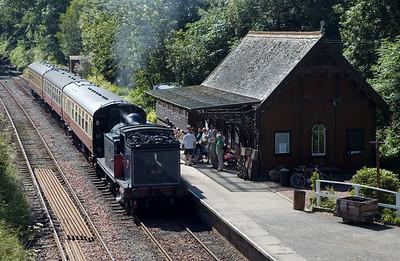 Bo'ness & Kinneil Railway steam, 2007