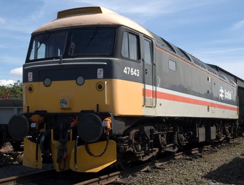 47643 (D1970), Bo'ness, 15 July 2007